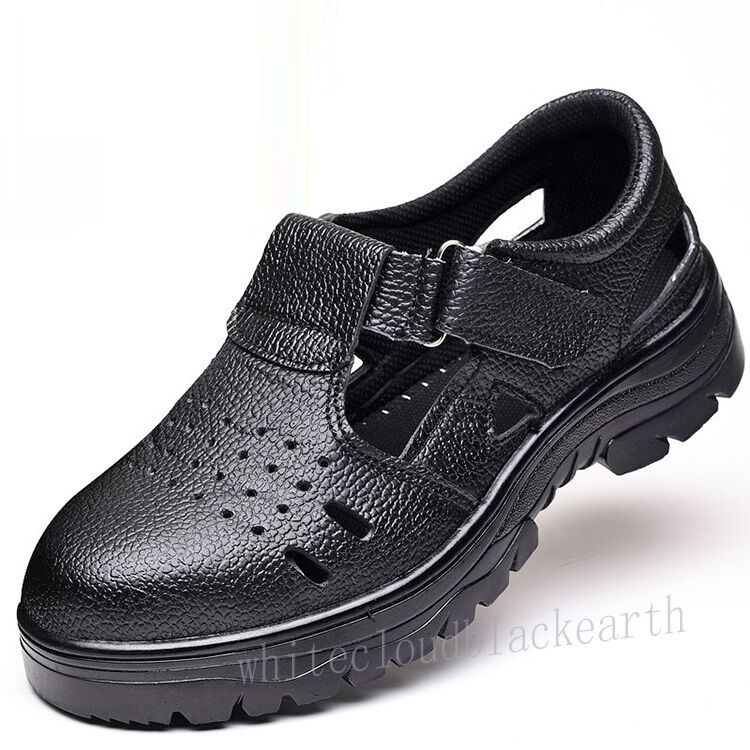 Womens Breathable Steel Toe Antislip Anti Puncture Working Safety Safety Safety Summer shoes ea2011