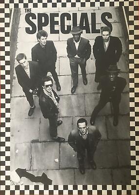 The Specials Ska UK Import Black /& White Band Shot Poster 23.5 x 33