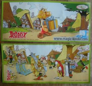 Goscinny - Uderzo : Asterix - Kinder Surprise : Feuillet Asterix De 2009