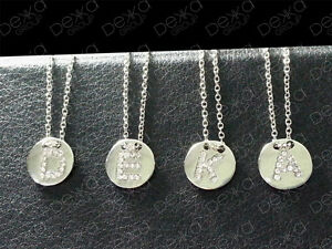 925-Silver-SP-Initial-Personalised-Pave-Letter-Alphabet-Disc-Charm-Necklace