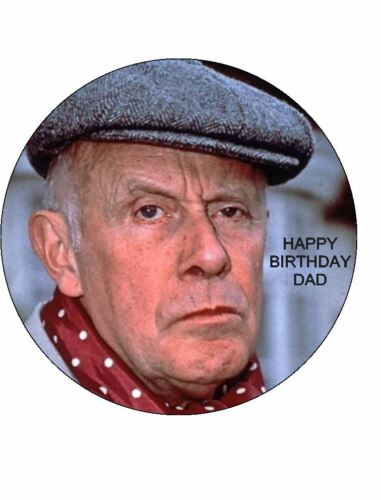 7.5 VICTOR MELDREW EDIBLE ICING BIRTHDAY CAKE TOPPER
