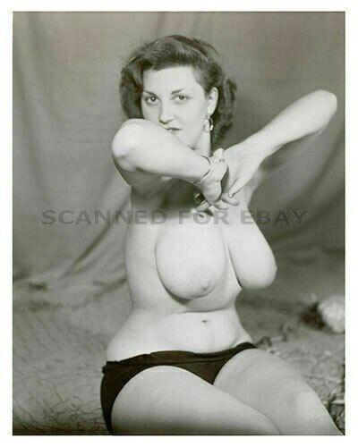 Eleanor Ames model nude girl busty picture photo breasts print woman female ZA