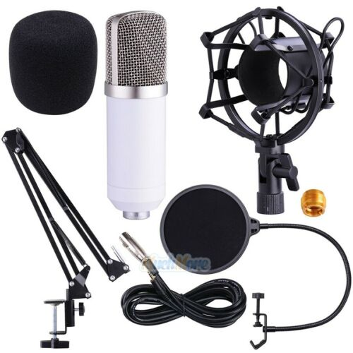 PROFESSIONAL Studio Recording Condenser Microphone with Suspension Stand Kit USA