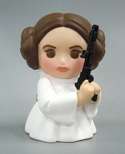 Star Wars Leia 5cm toy rare collection plush model doll Figure 13
