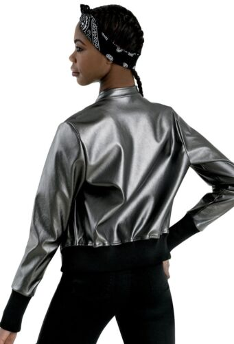 Dance Costume Small or Medium Adult Gunmetal Gray Black Jacket GROUP Competition