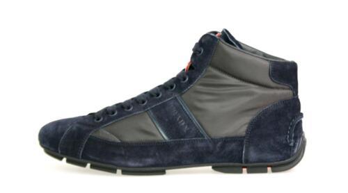 45 Scarpe 45 11 Blue lusso di top Prada sneaker Nuovo Grey High 4t2924 5 7q7wgP