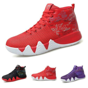 Mens Sport Sneaker Basketball Casuals Athletic Comfort High Top Breathable shoes
