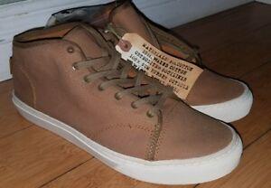 77d462483d VANS VERSA Men s Brown Mid Top Skateboard Sneaker Shoes Size 9 ...
