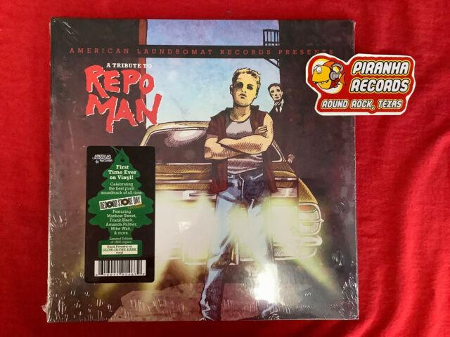 A Tribute to REPO MAN  RSD 2021 NEW LP Piranha Records Glo-in-the-Dark