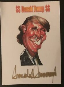 Politik, Adel & Militär Sammeln & Seltenes Us Präsident Original Signiert Real Authentic Autograph Tropf-Trocken Donald Trump 45