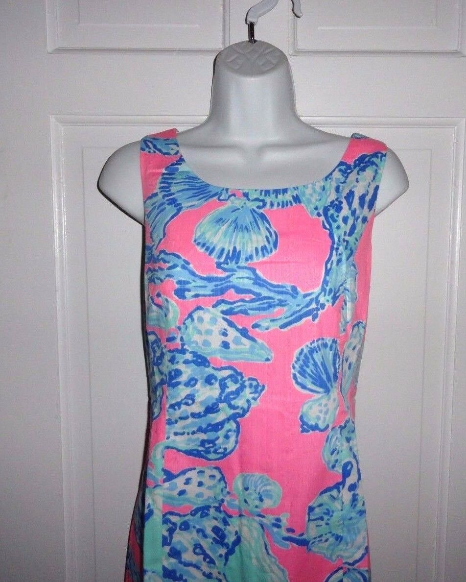 NWT LILLY PULITZER PINK POUT BAREFOOT PRINCESS CATHY  DRESS  10 12 14 16
