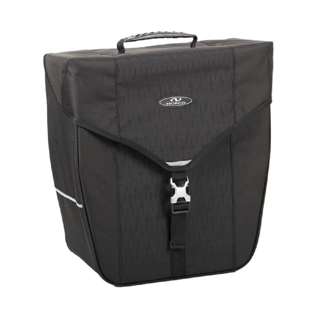 Norco Bandon Hinterradtasche City Tasche Liter 18 Liter Tasche schwarz inkl. Vario Top Haken 126d63