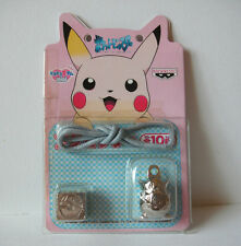 Pokemon Togepi metal charm bead bracelet keychain figure kit Japan rare 2000