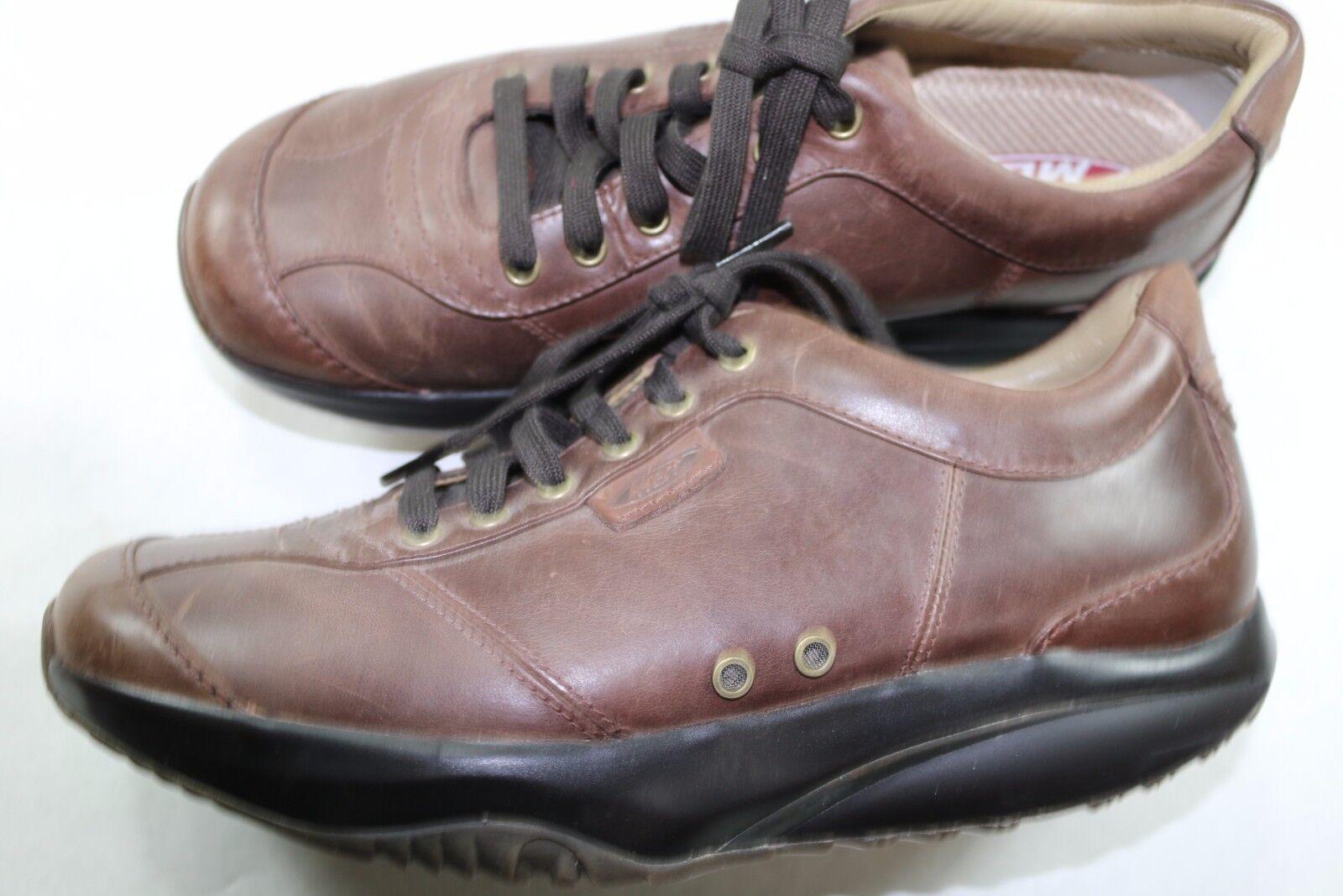 Mens MBT 8 M Rocker Brown Leather Walking shoes A038