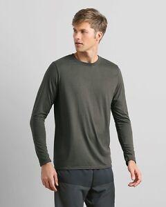 colores mezclar Performance de S Gildan xl Camisa manga 50 para Lote larga Granel Ok Polyester q7PYT5xw