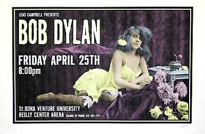 Bob Dylan 1997 Original Silkscreen Concert Poster Uncle Charlie Art S/N