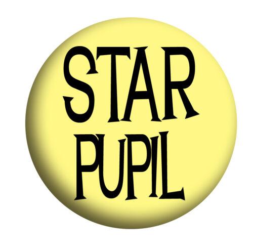 Badges STAR PUPIL SCHOOL DISCO Bottle Opener St.Trinians Mirror Magnet