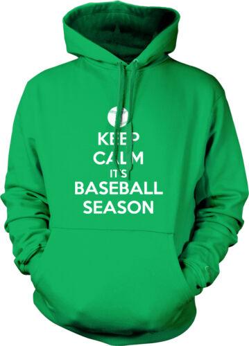 Keep Calm It/'s Baseball Season April Starting Poster Ball Is Hoodie Sweatshirt