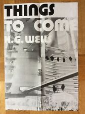 Things to come (A2-Kinoplakat '78) - H. G. Wells / Science Fiction