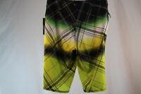 Quiksilver cypher Wonderland Swim/surf/board Shorts Green Color Size 29/30/31