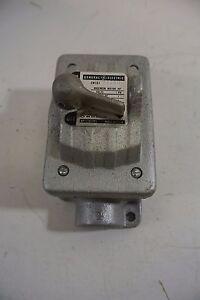 Ge cr101y400h manual motor starter single speed ebay for Ge manual motor starter