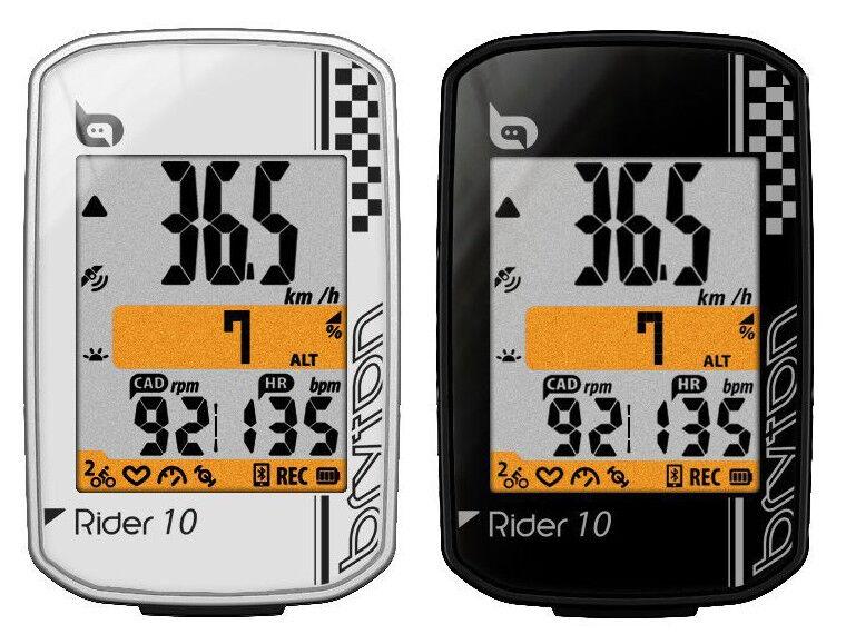 Counter bike BRYTON Rider  10E altimeter GPS blueetooth STRAVA temperature R10E  classic style