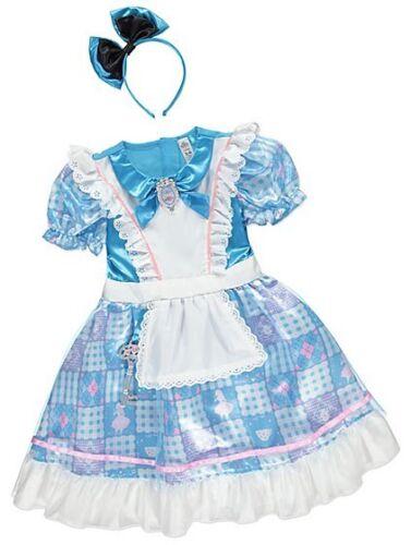 George Disney Alice nel paese delle meraviglie Costume Vestito Giornata Mondiale del Libro