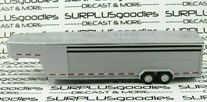 Greenlight-1-64-LOOSE-Silver-Continuous-GOOSENECK-Farm-Livestock-Trailer-DropLeg