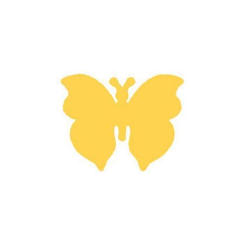 """Ponche artesanal 1/"""" tarjetas colección de recortes Corte De Papel Mariposa 2.5cm 4"""