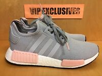 Adidas NMD R1 W Grey Vapour Pink Light Onix Women's Nomad Runner BY3058 LIMITED