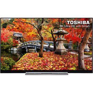 Toshiba 49 Inch Smart LED TV 4K Ultra HD Freeview HD 4 HDMI New 49U7763DB