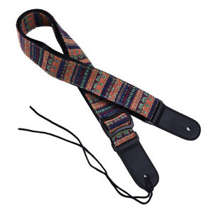 Bohemian-Style-Adjustable-Soft-Cotton-Strap-for-Electric-Acoustic-Guitar-Bass-AR