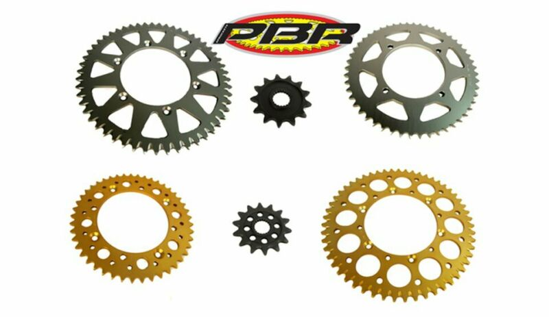 Suzuki chain and sprocket sets