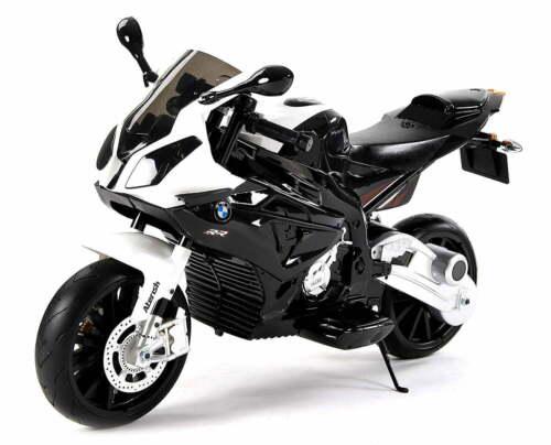 MOTO ELETTRICA PER BAMBINI BMW SUPER SPORT S1000 RR 12V CON 2 MOTORI E LUCI CON