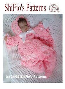 b3c4d317901 Image is loading CROCHET-PATTERN-for-BABY-GIRL-JACKET-HAT-amp-