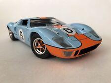 1969 FORD GT-40 LE MANS 1969 BLUEORANGE JOUEF EVOLUTION 1/18