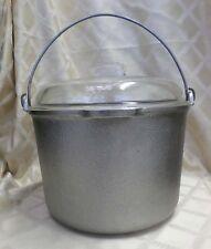 Guardian Service 12 Quart Aluminum Stock Pot Canning Glass Dome Lid Bail Handle