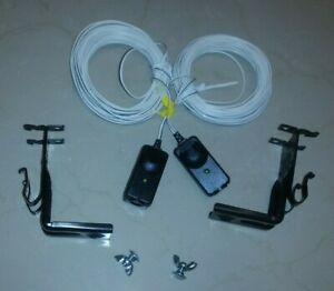 LiftMaster Door Safty Sensors With Brackets And Wire