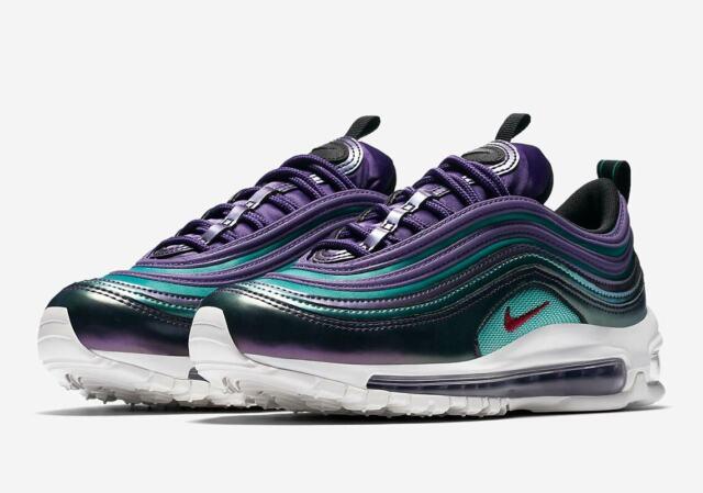 5y | 6.5 Womens Nike Air Max 97 SE Metallic Purple Multicolor Av3181 500 Running
