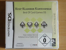 BEST OF CARD GAMES DS (DS-3DSXL) NEU OVP DEUTSCH***