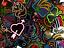thumbnail 1 - 20 Random Colorful Neon Light Style Anime Skateboard Laptop Stickers Lot Bomb