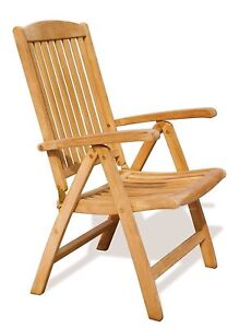 Beau Image Is Loading Tewkesbury Garden Reclining Chair Sustainable Teak Recliner