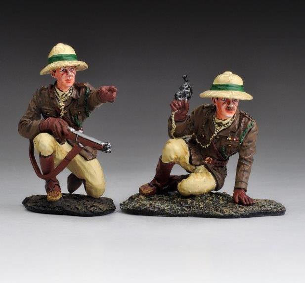 THOMAS GUNN LOA011 - British Officer Command Group WW1 (Sale)