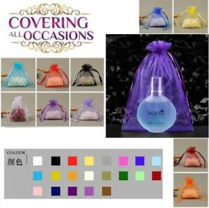 Luxury-100pcs-Sheer-Organza-Wedding-Party-Favor-Gift-Candy-Bags-Jewelry-Pouches