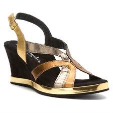 Helle Comfort Melissa Metallic Sandals Shoes 37 6.5