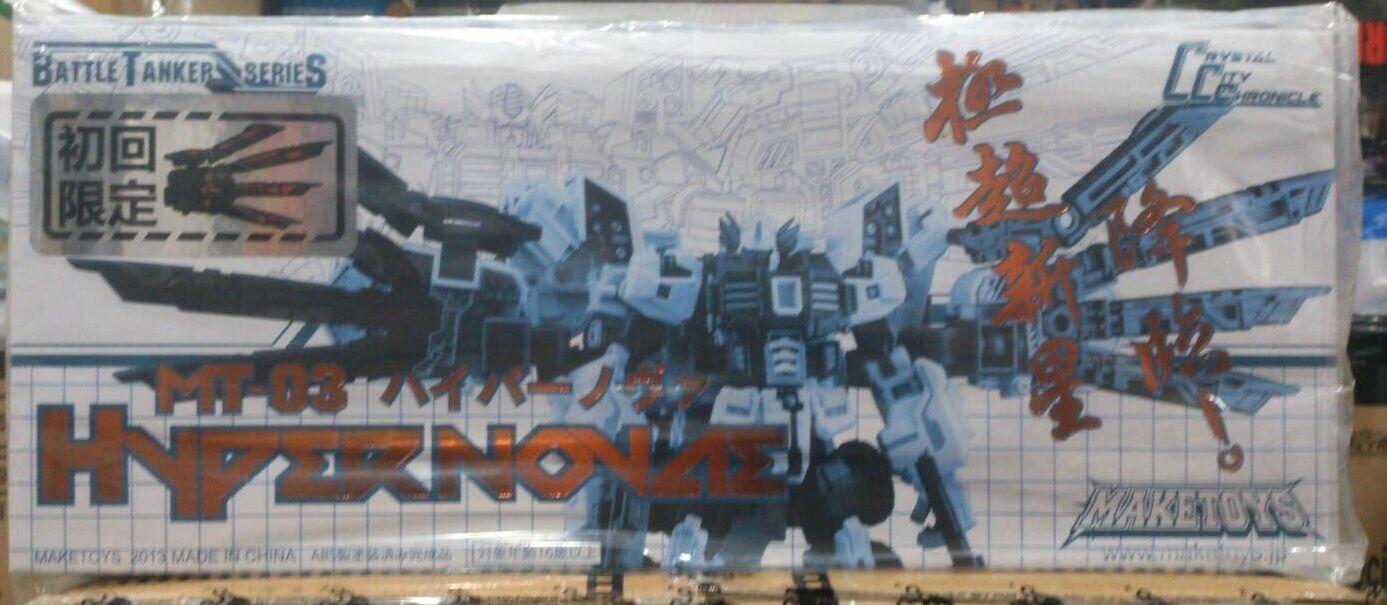 Transformers MakeJuguetes batalla petrolero serie MT-03 Hyper Novae Figura De Acción