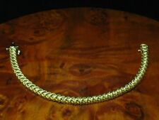 14kt 585 GOLD ARMBAND MIT 2,94ct BRILLANT BESATZ / DIAMANT / 18,0 cm / 15,4g