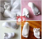 3D Plaster Handprints Footprints Baby Hand & Foot Casting Mini Kit /