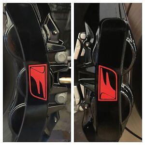 8pc-2016-Lexus-GS-F-Brake-Caliper-Vinyl-Sticker-Decal-Logo-wrap-GS-F-Gloss-Red