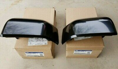 NEW 2015-2019 Ford F150 Unpainted Primed Mirror Cover Skull Cap Set of 2,OEM